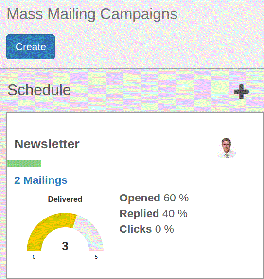 mass mailing Campaign - odoo